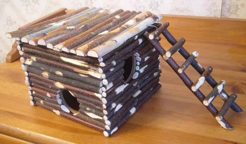 Как сделать дом для хомяка своими руками