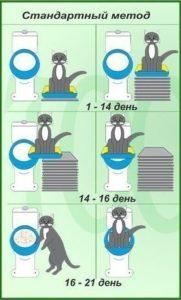 Методы приучения у туалету человеческому