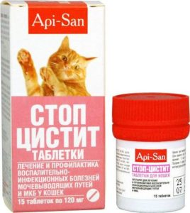 Ветеринарные препараты при цистите у кошек